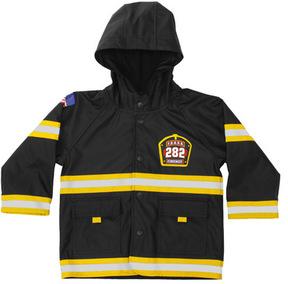 Western Chief Boys' F.D.U.S.A. Firechief Raincoat