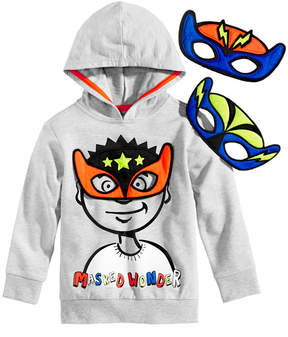 Epic Threads Sweatshirt & Mask Set, Toddler Boys (2T-5T), Created for Macy's