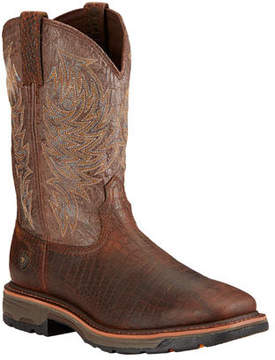 Ariat Men's Workhog Wide Square Toe Cowboy Boot