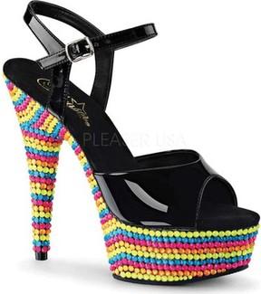 Pleaser USA Delight 609RBS Ankle Strap Sandal (Women's)