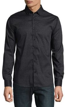 Karl Lagerfeld Patterned Button-Down Shirt