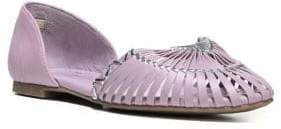 Fergie Nickle Leather Flats