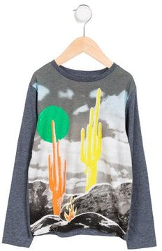 Stella McCartney Boys' Long Sleeve Graphic Shirt
