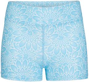 Capezio Blue Spring Fling Shorts - Girls