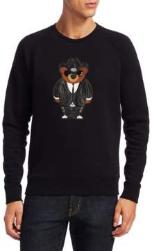 Ralph Lauren Bear Applique Fleece Sweatshirt