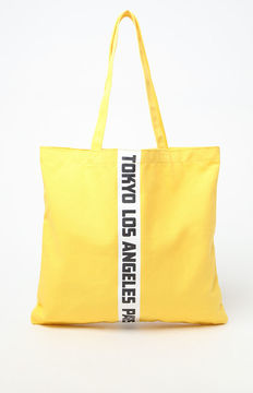 LA Hearts Graphic Tote Bag
