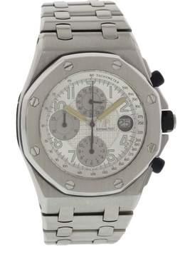 Audemars Piguet Royal Oak Off Shore Stainless Steel Silver Dial Automatic 44mm Mens Watch