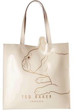 Ted Baker Large Printed Icon-Cotton Dog Handbags