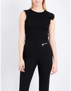 Claudie Pierlot Bow knitted top