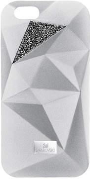 Swarovski Facets Smartphone Case with Bumper, iPhone 7, Silver Tone