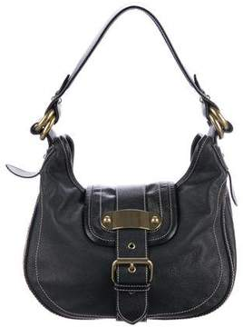 Marc Jacobs Grained Leather Hobo - BLACK - STYLE