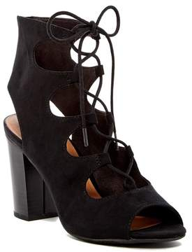 BC Footwear Vivacious Lace-Up Sandal