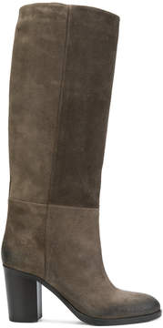 Strategia panelled boots