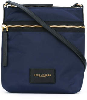 Marc Jacobs top zip messenger bag - BLUE - STYLE