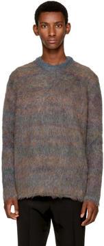 Acne Studios Blue Nikos Sweater