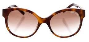 Jimmy Choo Allium Round Sunglasses