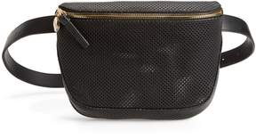 Clare Vivier Perforated Leather Fanny Pack