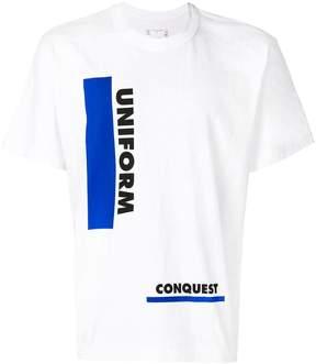 Sacai Uniform Conquest T-shirt
