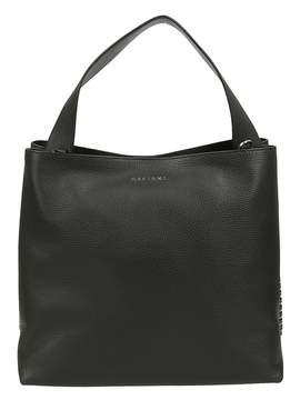 Orciani Chain Trim Shopper Bag
