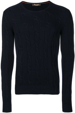 Loro Piana knitted crew neck sweater