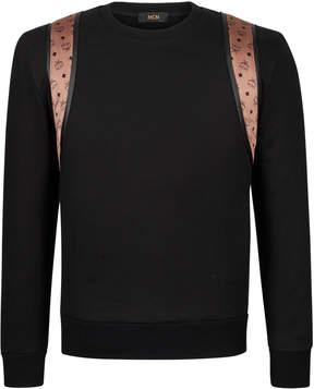 MCM Men's Backpack Detail Sweatshirt