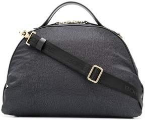 Borbonese logo satchel bag