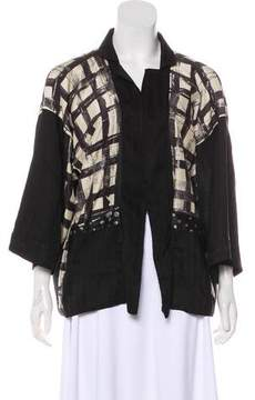 Antonio Marras Silk-Blend Jacket