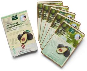 Earth Therapeutics 5-pk. Nourishing Avocado Face Masks