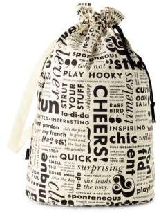 Kate Spade What Do You Say Laundry Bag - BLACK - STYLE