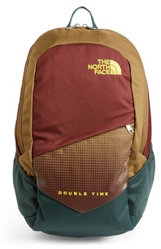 The North Face Boy's Double Time Backpack - Green