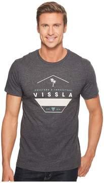 VISSLA Layover Heathered T-Shirt Top Men's T Shirt