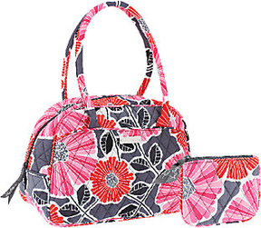 Vera Bradley Signature Print Medium Bowler Bag with Coin Purse - ONE COLOR - STYLE