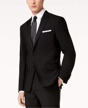 DKNY Men's Modern-Fit Black Tuxedo Suit Jacket