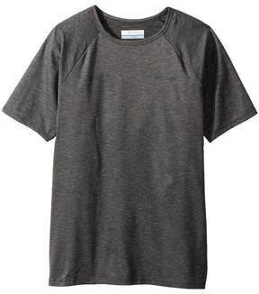 Columbia Kids Silver Ridge II Short Sleeve Tee Boy's Short Sleeve Pullover
