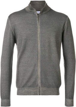 Cruciani long sleeved zip cardigan
