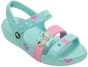 Crocs Girls' Keeley Frozen Fever Sandal (Toddler/ Little Kid/ Big Kid) 8139619