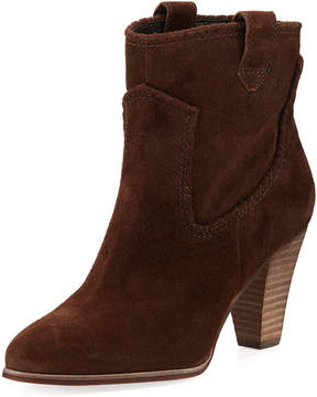 Karl Lagerfeld Paris Provence Suede Pull-On Bootie