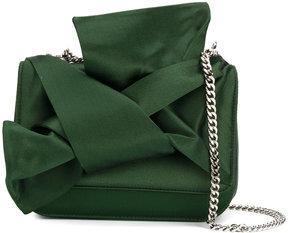 No21 front knot shoulder bag