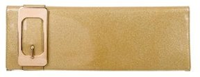 Gucci Romy Buckle Clutch - GOLD - STYLE