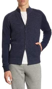 Loro Piana Coarsehair Cashmere Jacket