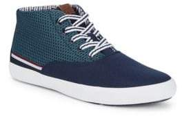 Ben Sherman Percy Knit Hi-Top Sneakers