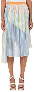 Kolor Women's Accordion-Pleated Gauze Midi-Skirt