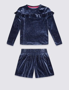 Marks and Spencer 2 Piece Top & Bottom Outfit (3 Months - 6 Years)