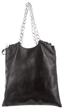 Lanvin Black Leather Hobo
