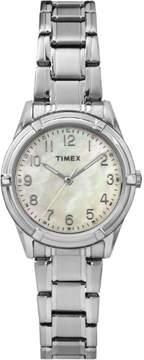 Timex Women's Easton Avenue Watch, Silver-Tone Stainless Steel Bracelet