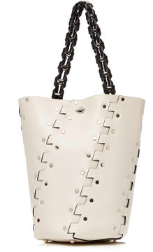 Proenza Schouler Medium Hex Leather Bucket Bag