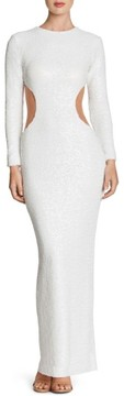 Dress the Population Women's Lara Body-Con Gown