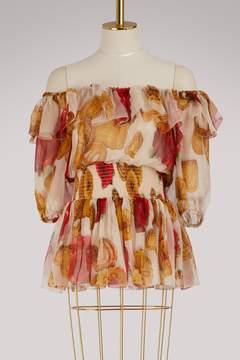 Dolce & Gabbana Biscotti silk top