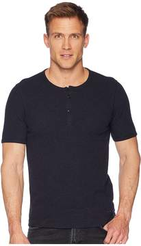 BOSS ORANGE Trixer Short Sleeve Henley Shirt Men's Clothing