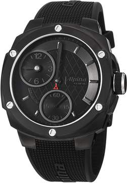 Alpina Extreme Regulator Mechanical Black Dial Rubber Men's Watch